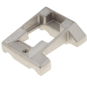 Inclined Engine Mount - 92 X 28 mm Drilled Al
