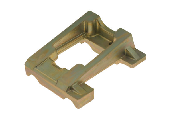 Inclined Engine Mount - 92 X 30 mm Drilled