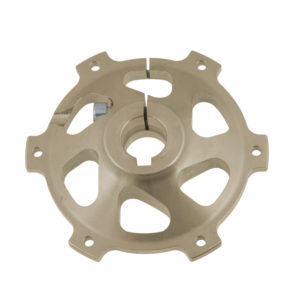 Al Disk Hub Ø 25mm - Self-Vetilated Brake Disk Ø 206